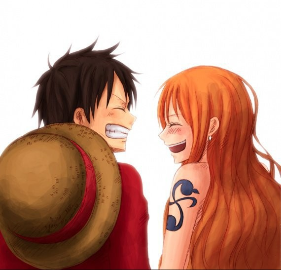 One shot one piece - Luffy x nami 2 ans plus tard ...